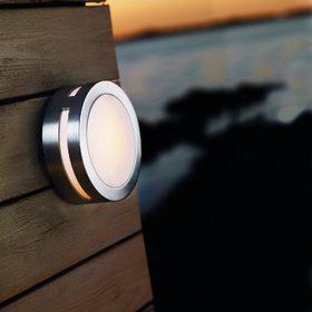 Wandleuchte Aluminium PVC Outdoor Energiesparer - Vorschau 1