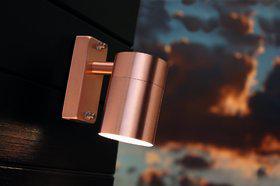 Wandleuchte Metall Kupfer Glas Outdoor - Vorschau 1