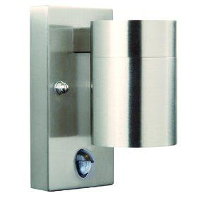 Wandleuchte rostfreier Edelstahl Metall Glas Outdoor Bewegunssensor - Vorschau 2