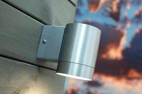 Wandleuchte Metall Aluminium Glas Outdoor - Vorschau 1