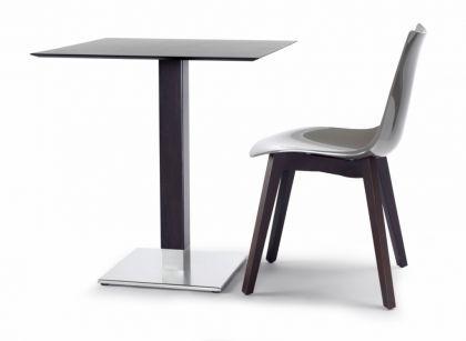 design tisch holz wenge buche metall modern kaufen bei richhomeshop. Black Bedroom Furniture Sets. Home Design Ideas