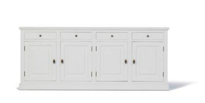 Klassische Anrichte, Sideboard im Landhausstil in vier Farben und drei Größen - Vorschau 4