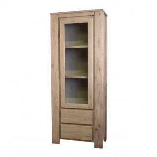 Sideboard, Anrichte im Landhausstil aus massive Eiche, Länge 210 cm, Möbel für den Innenbereich - Vorschau 3