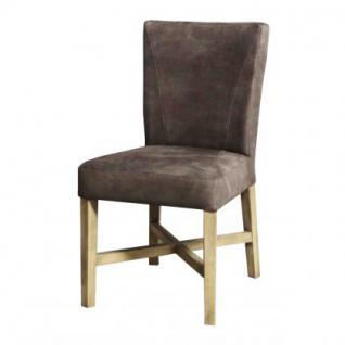 Polsterstuhl, Stuhl im Landhausstil in drei Farben