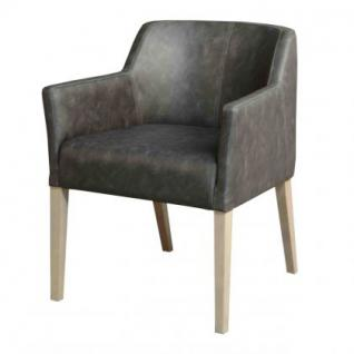 Stuhl mit Armlehne in fünf Farben - Vorschau