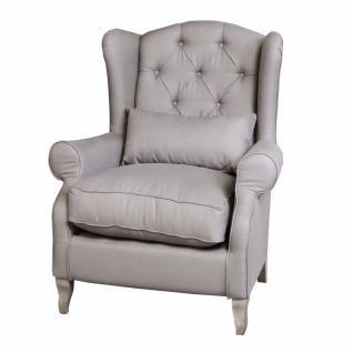 Sessel im Landhausstil in funf Farben - Vorschau 1