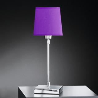 Design Tischleuchte, chrom, Ø 12 cm - Vorschau