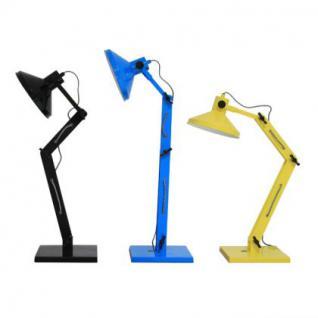 Design Tischleuchte, Tischlampe, Farbe blau mit verstellbaren Arm - Vorschau 3