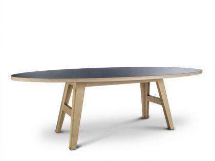 Ovaler Designesstisch in fünf Größen - Vorschau 1