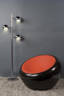 Design Sessel in schwarz/rot - Vorschau 4