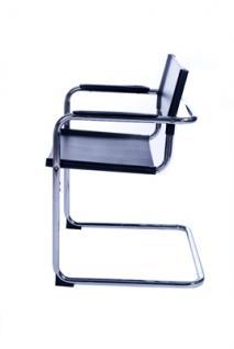 Design Bürostuhl in schwarz modern - Vorschau 3