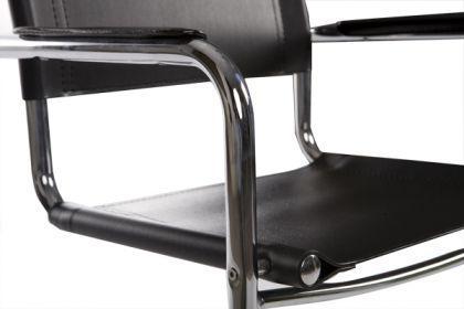 Design Bürostuhl in schwarz modern - Vorschau 5