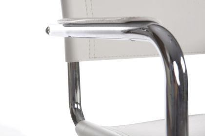 Design Bürostuhl in weiß modern - Vorschau 5