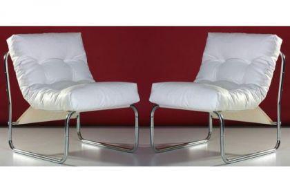Design Stuhl in weiß - Vorschau 4