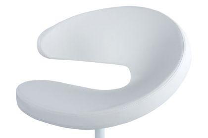Design Stuhl in weiß - Vorschau 3