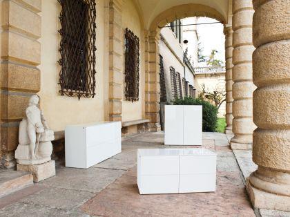 Modernes Sideboard in zwei Farben, 180 cm Breite - Vorschau 3