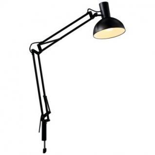 Schreibtischleuchte Metall schwarz verstellbar modern - Vorschau 3