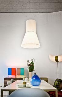 Hängeleuchte mit Lampenschirm, moderne Hängelampe in sieben verschiedenen Farben, 48 cm - Vorschau 3