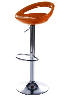 Design Barhocker in orange - Vorschau 1