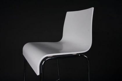 Design Barstuhl in weiß - Vorschau 2