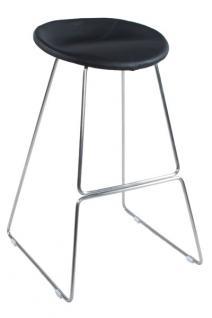 Design Barhocker in schwarz modern - Vorschau 1
