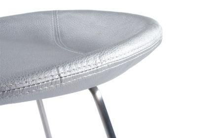 Design Barhocker in silber modern - Vorschau 3