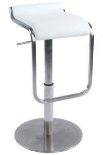Design Barhocker in weiß - Vorschau 1