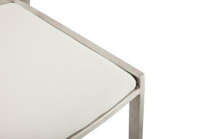 Design Barhocker in weiß modern - Vorschau 5