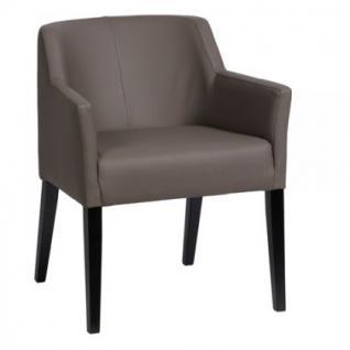 Klassischer Stuhl-Sessel gepolstert in sieben Farben