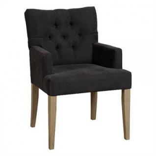 Klassischer Stuhl geknöpft gepolstert