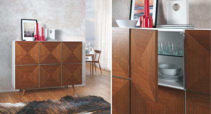 schrank walnuss weiss online bestellen bei yatego. Black Bedroom Furniture Sets. Home Design Ideas