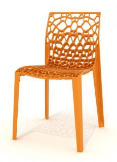 Outdoor Design-Stuhl in sieben Farben, ausgezeichnet mit Red Dot Award 2011 - Vorschau 4