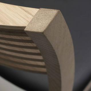 Stuhl aus Eichenholz im klassischen Stil - Vorschau 2