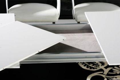 Design konferenztisch, modern, Aluminium, Länge verstellbar. - Vorschau 3