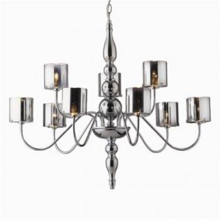 Genial Kronleuchter Metall Chrom Pirexglas Modern