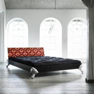 Bett für Jugendzimmer, Bett mit einem Design Kopfteil, Größe 148 x 208 cm