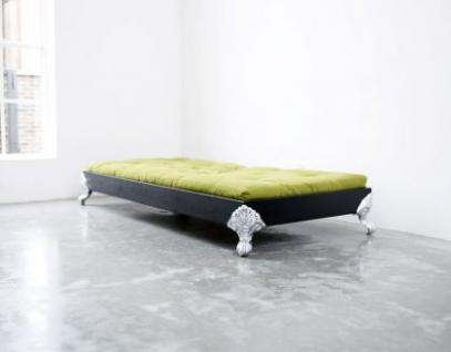 Bett für Jugendzimmer, Bett mit einem Design Kopfteil, Größe 148 x 208 cm - Vorschau 2