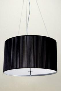 Hängeleuchte, Pendelleuchte mit einem schwarzem Lampenschirm, Ø 60 cm - Vorschau 1