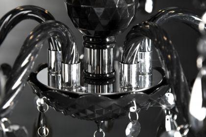 Kronleuchter aus Acrylglas, 5-armig, Farbe schwarz, Durchmesser 53 cm - Vorschau 3