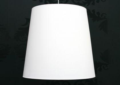 Pendelleuchte mit einem weißem Lampenschirm XXL, Ø 70 cm