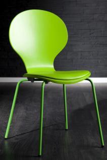 Stuhl gepolstert, Farbe grün