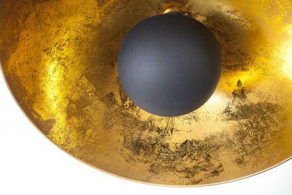 Pendelleuchte aus Metall, Hängeleuchte Farbe schwarz-gold, Durchmesser 53 cm - Vorschau 5