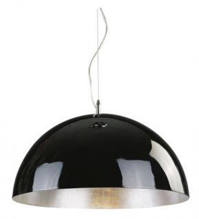Moderne Pendelleuchte, 50 cm Durchmesser, Farbe schwarz