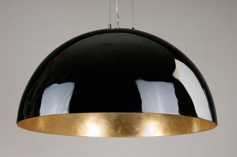Moderne Pendelleuchte 90cm Durchmesser, in drei Farben gold, weiss und schwarz