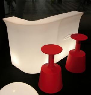 Design Bar in Weiß Corner Bar, leuchtend, Eckstück