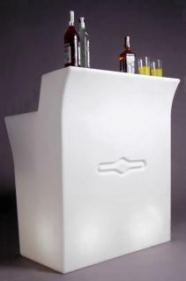 Design Bar in Weiß Jumbo Bar, leuchtend