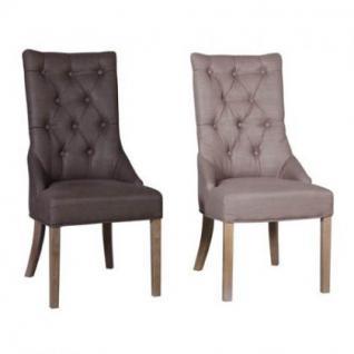 Stuhl im Landhausstil, gepolstert in vier Farben - Vorschau 2