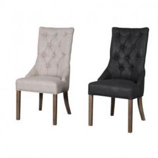 Stuhl im Landhausstil, gepolstert in vier Farben - Vorschau 3