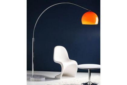 Stehleuchte im modern Stil Schirm orange 170 cm - Vorschau 3