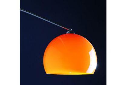 Stehleuchte im modern Stil Schirm orange 170 cm - Vorschau 4
